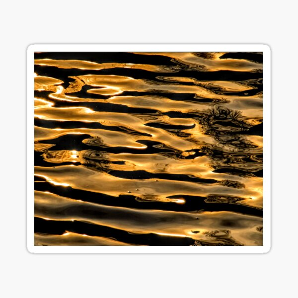 Abstract Reflection 00001a Sticker