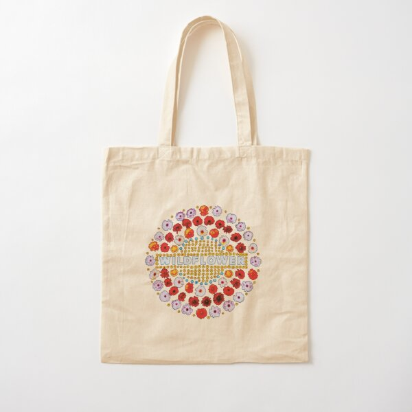 Wildflower 5 Seconds Of Summer Cotton Tote Bag