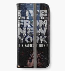 Live From New York, Saturday Night Live iPhone Wallet/Case/Skin