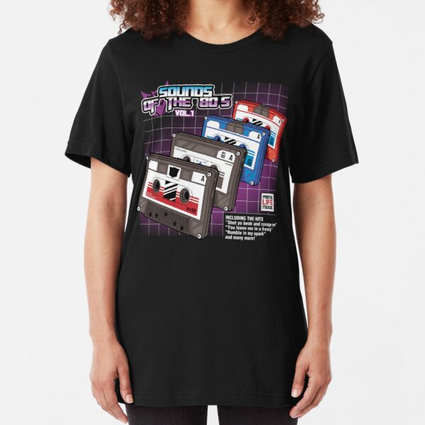 Sounds of the 80s vol.1 Slim Fit T-Shirt