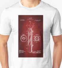Barber Pole Patent 1916 T-Shirt