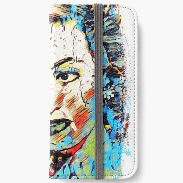 Women of Cinema - Series 2 - Bette Davis iPhone Wallet