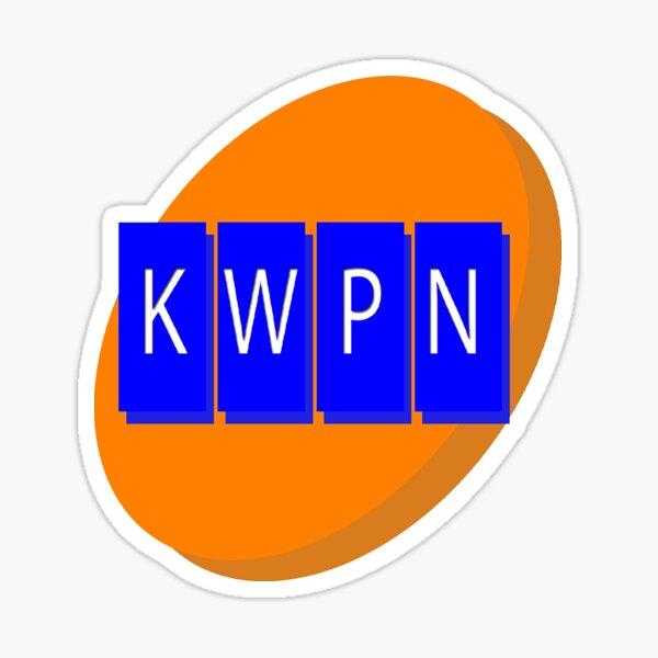 Weeping Cedars - KWPN Radio Sticker Sticker