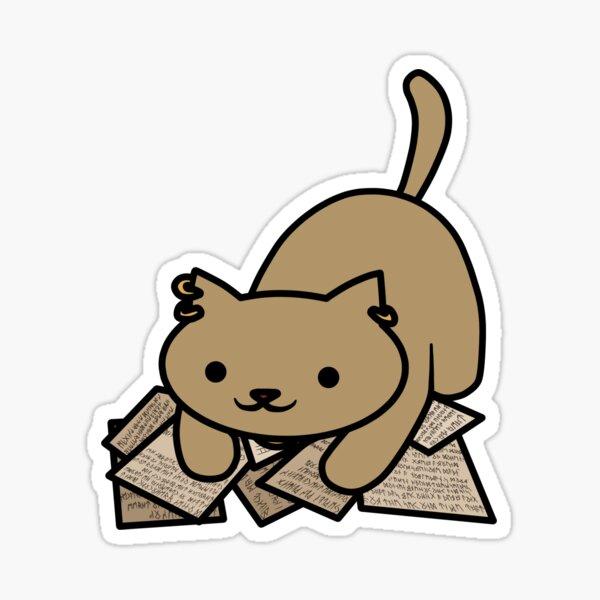 Varric the Cat Sticker