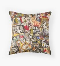Mae West, Vintage Hollywood Throw Pillow