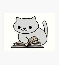 Wynne the Cat Art Print