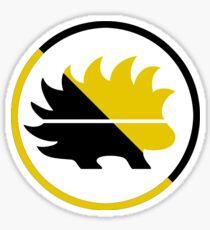 Anarcho-Capitalist Porcupine Ancap Sticker