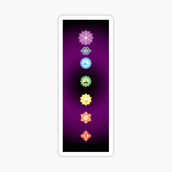 Chakra Vibrations Sticker