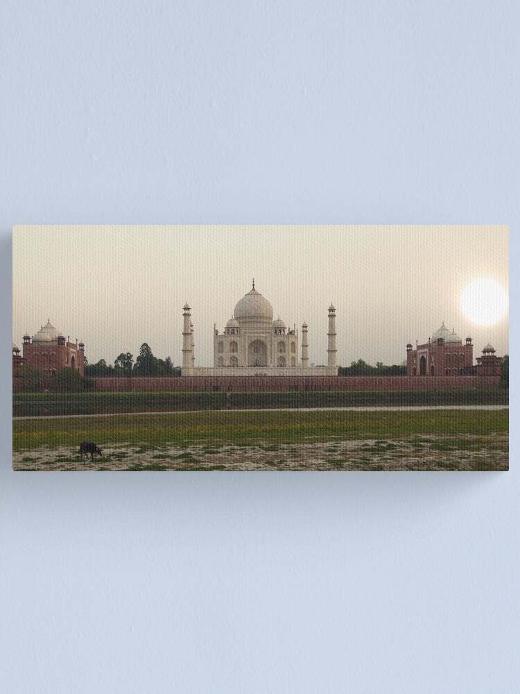 Alternate view of Taj Mahal at Sunset Canvas Print