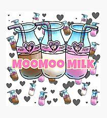 Moo Milk   Photographic Print