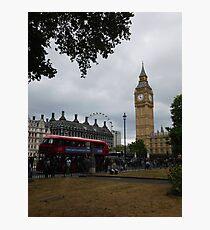 London Sightseeing Photographic Print
