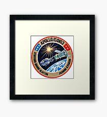 ASTP (Apollo–Soyuz Test Project) Framed Print
