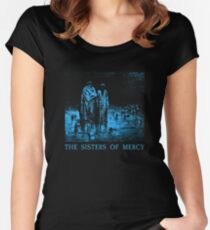 The Sisters Of Mercy - The Worlds End - Body and soul Women's Fitted Scoop T-Shirt