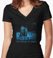 The Sisters Of Mercy - The Worlds End - Body and soul Women's Fitted V-Neck T-Shirt