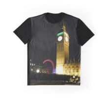 London at Night Graphic T-Shirt