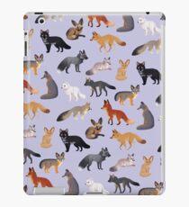 Fox Breeds iPad Case/Skin