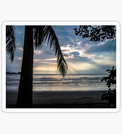 Panoramic view in Koh Chang Sticker