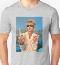 Joanna Lumley as Patsy Stone painting Unisex T-Shirt
