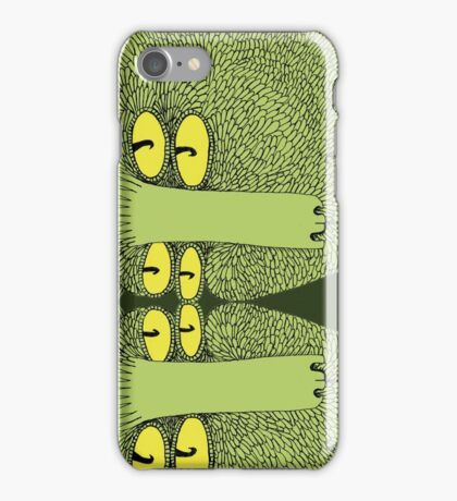 Mutant Catfish Twins Collecting Starfish iPhone Case/Skin