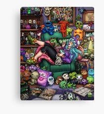 Monster Mash-up Canvas Print