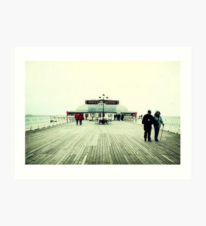 Pavilion Theatre, Cromer Pier Art Print