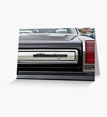 1965 Dodge Coronet Rear Greeting Card