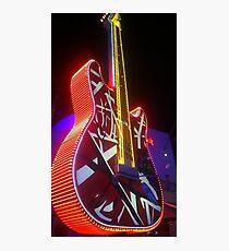 Rock n Roll Guitar  Photographic Print