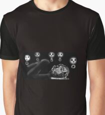 Don't Fall Asleep Or No Rest For The Wicked! Graphic T-Shirt