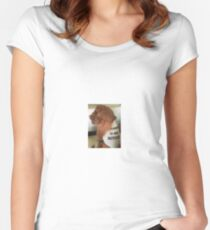 Oliver Fenty (Rihanna's Cutest Dog) Women's Fitted Scoop T-Shirt