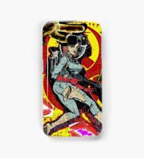 Space zombie graphic novel design Samsung Galaxy Case/Skin