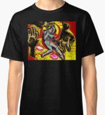 Space zombie graphic novel design Classic T-Shirt