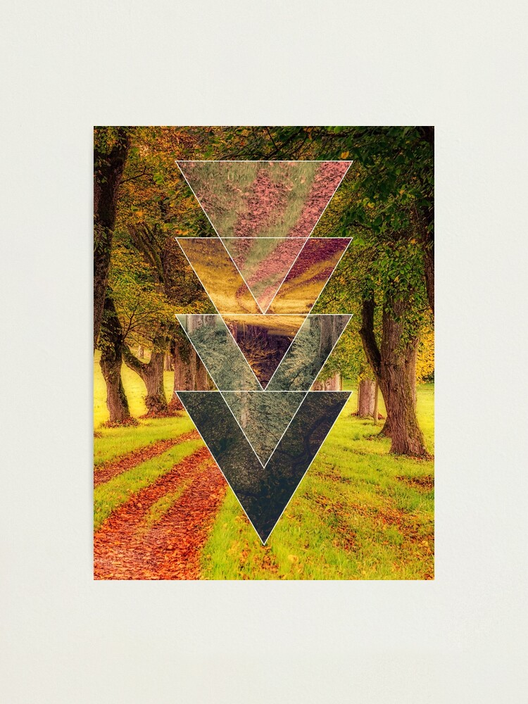 Alternate view of Polyscape 4 Seasons Photographic Print