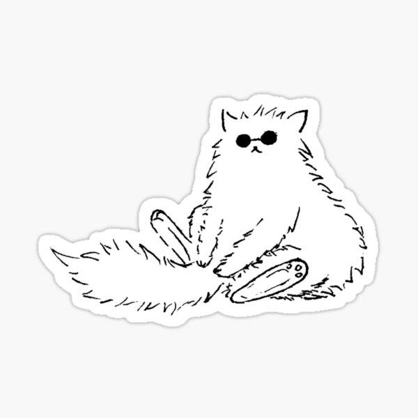 Gojo Cat Sticker