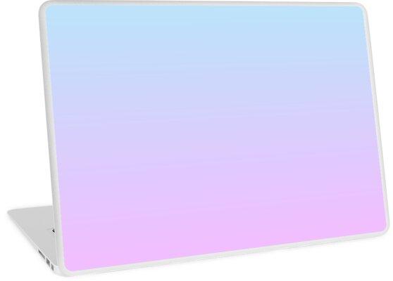 Farbverlauf - Pastellblau / Flieder von liminalspaces