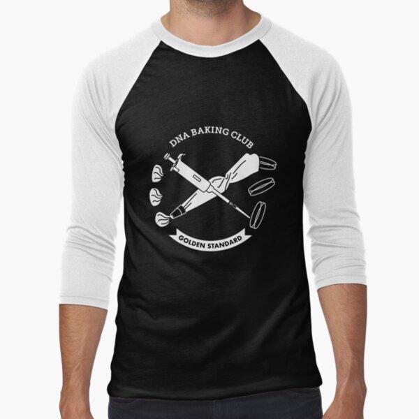 Biologist Baking Club Baseball ¾ Sleeve T-Shirt