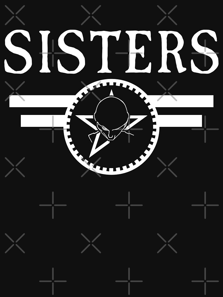 The Sisters Of Mercy The Worlds End Sisters New Logo Unisex T