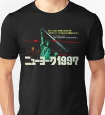 1997. New York City is now a maximum security prison. Breaking out is impossible. Breaking in is insane. T-Shirt