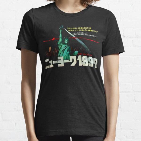 1997. New York City is now a maximum security prison. Breaking out is impossible. Breaking in is insane. Essential T-Shirt