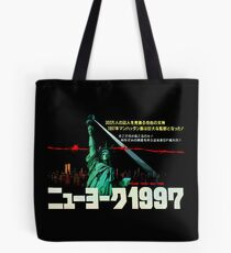 1997. New York City is now a maximum security prison. Breaking out is impossible. Breaking in is insane. Tote Bag