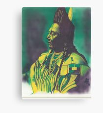 Chief Plenty Coups Canvas Print