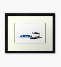 Classic German sports car Framed Print