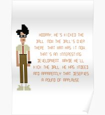 The IT Crowd – Moss at the Football Poster