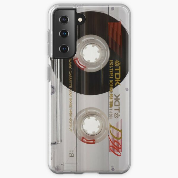 Retro Cassette Tape 1980's Designed Phone Case Samsung Galaxy Soft Case