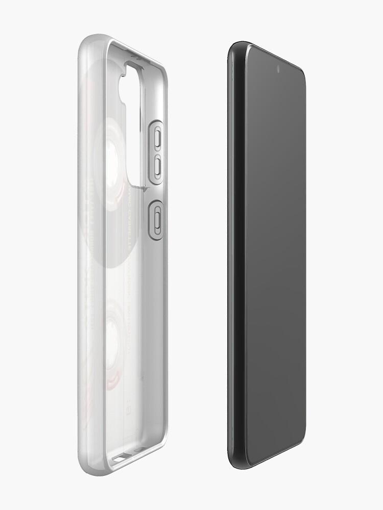 Alternate view of Retro Cassette Tape 1980's Designed Phone Case Case & Skin for Samsung Galaxy