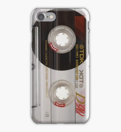 TDK Blank Cassette iPhone Case