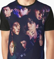 EXO - Monster Collage Graphic T-Shirt