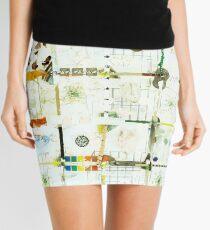 Rickety Gridlock 1 Mini Skirt