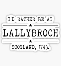 Lallybroch - Outlander Sticker