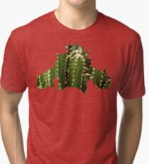 Cacnea used Needle Arm Tri-blend T-Shirt