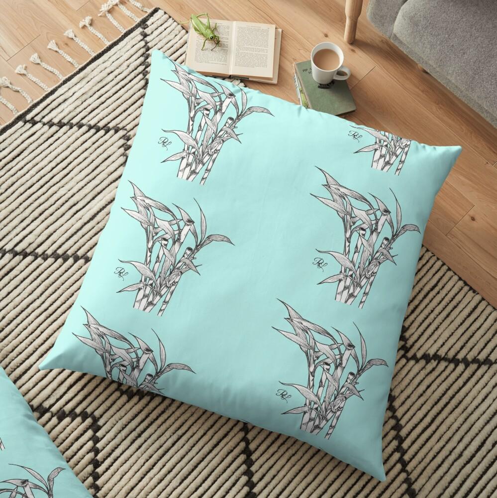 Bamboos  Floor Pillow